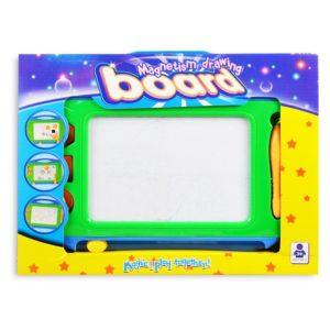 Magnetická tabuľa na kreslenie Rozmery:36x27,5cm Nevhodné pre deti do 3 rokov.