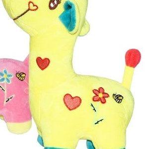 Plyšová žirafka krásnej žltej farby, je veľká 30cm a príjemná na dotyk 100% Polyester Nevhodná pre deti do 3 rokov.