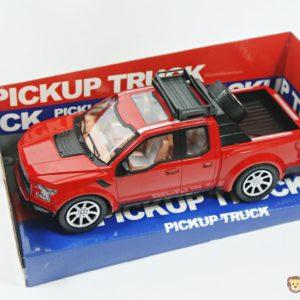 červeny pickup
