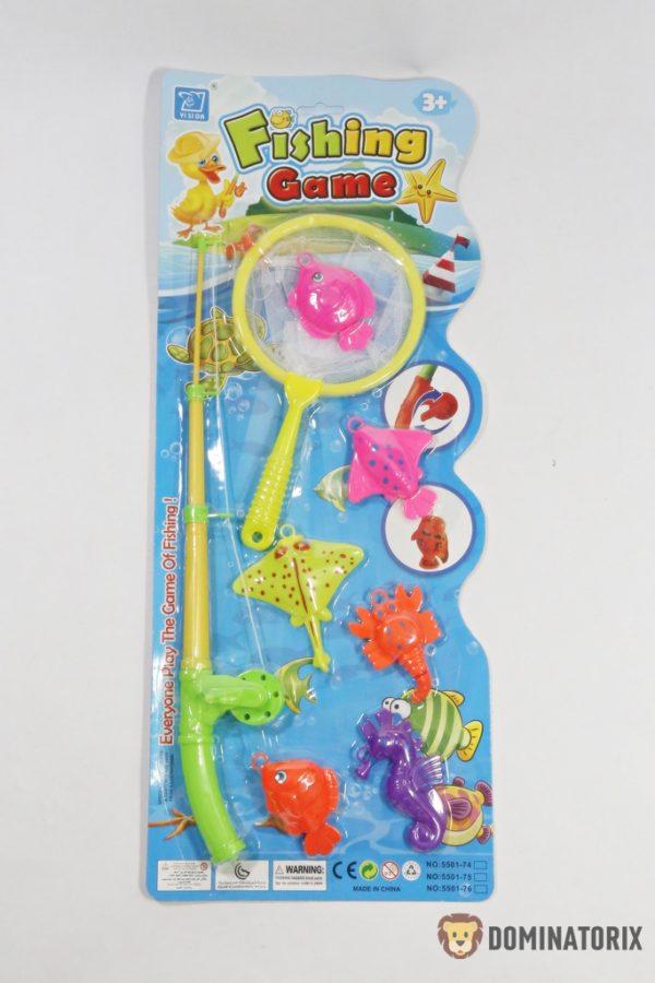 Udica s rybkami, super zábavka pre detičky do vane Rozmery celého balenia: 53,5x21,5cm Nevhodné pre deti do 3 rokov.
