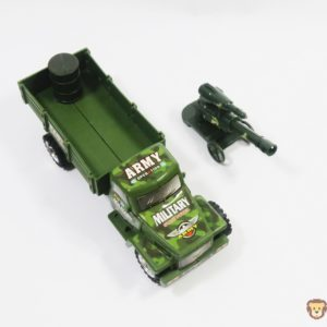 Vojenská tatra s delom Rozmery:21x8x7,5cm Nevhodné pre deti do 3 rokov.