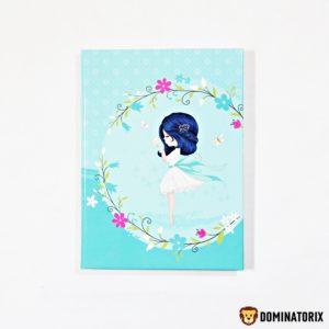 Pamätník dievčatko v krásnom prevedení pre dievčatá. Obsahuje 60 čistých listov Rozmery: 18,5x13,5cm Nevhodné pre deti do 3 rokov.