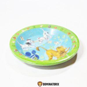 Detské taniere Zvieratká Kamaráti-Animal Friends Disney. V balení je 4ks tanierov s priemerom 15,5cm jedného taniera. Hĺbka taniera je 2,5cm. Cena je uvedená za balenie (4ks). Vhodné pre deti od 3 rokov.