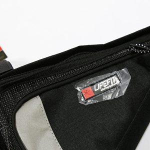 Cyklistická taška LIFEFIT. Rámová cyklo taška je vyrobená z odolného materiálu s povrchovou úpravou odpudzujúcou vodu. Má dve vrecká so zapínaním na zips, vnútornú výstuž a uchytenie tromi popruhmi so suchým zipsom. Materiál-polyestér, PVC. Rozmery: 28x18x25cm.