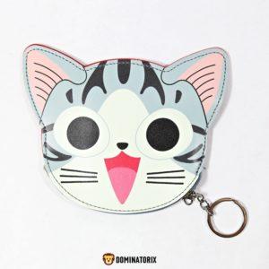 Detská peňaženka s kľúčenkou Mačka
