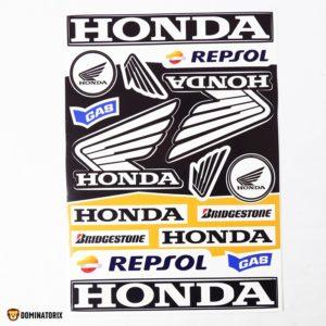 Nálepky na motocykel HONDA A4