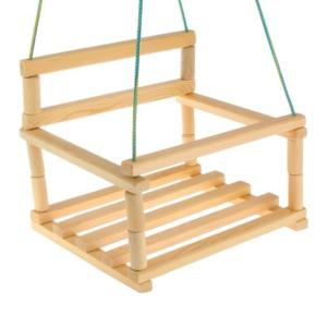 Detská drevená hojdačka Pevná detská hojdačka vhodná do záhrady. Ideálna pre vaše deti.Dominatorix eshop