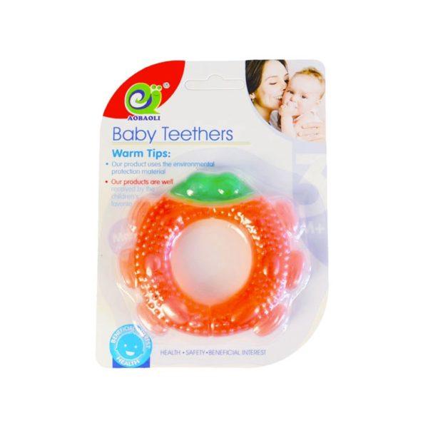 Detské hryzátko jahoda je 10cm veľká Materiál: plast Vhodné pre deti od 3 mesiacov