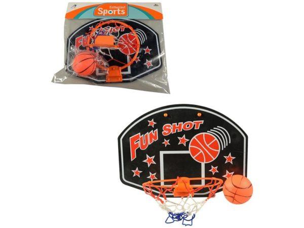 Detský basketbalový kôš s loptou Materiál: plast Rozmery: 35x25cm Vhodné pre deti od 3 rokov